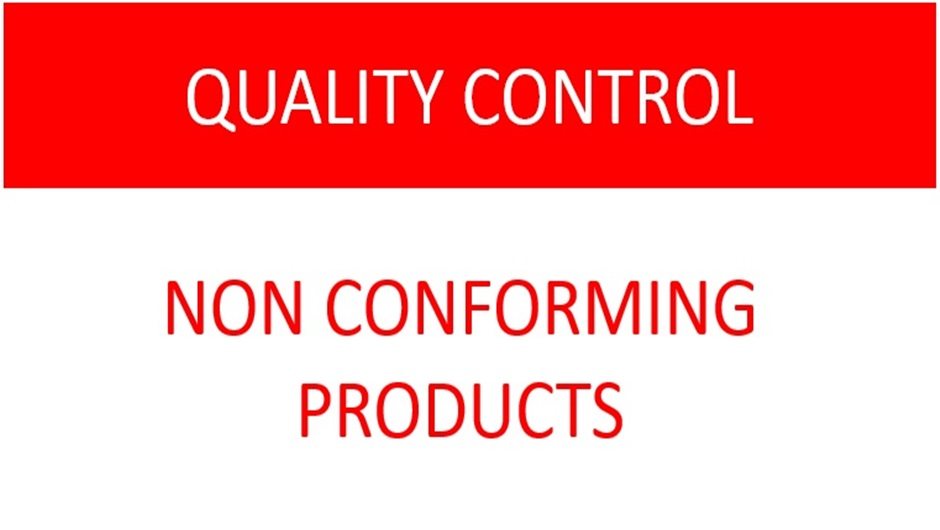 ISO 9001 Standard Control of Nonconforming Product requirements